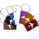 hesapli Seyahat Aksesuarları-1pc Bavul Etiketi Bagaj Aksesuarları için Bagaj Aksesuarları Alüminyum alaşımı - Siyah / Kırmızı / Altın / Beyaz / Gümüş