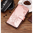 cheap Galaxy J Series Cases / Covers-Case For Samsung Galaxy J6 / J4 Wallet / Card Holder / with Stand Full Body Cases Lace Printing Hard PU Leather for J8 / J7 Prime / J7 (2017)