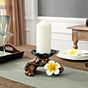 cheap Candles & Candleholders-Simple Style ABS+PC Candle Holders Candelabra 1pc, Candle / Candle Holder