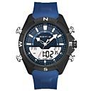 رخيصةأون ساعات الرجال-رجالي ساعة رياضية كوارتز سيليكون أسود / أزرق رزنامه مماثل كاجوال - أسود أسود / أزرق