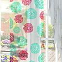 levne barvé náčiní a vývrtky-Okenní film a samolepky Dekorace Retro styl / Se vzorem Tisk PVC Nálepka na okna