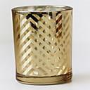 billige Mode Halskæde-minimalistisk stil Rustfrit stål Lysestager Kandelaber 1pc, Candle / Candle Holder