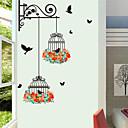 hesapli Duvar dekorasyonu-Dekoratif Duvar Çıkartmaları - Uçak Duvar Çıkartmaları / Hayvan Duvar Çıkartmaları Hayvanlar / Çiçek / Botanik Oturma Odası / İç Mekan