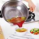 abordables Ustensiles de Cuisine-1pc Outils de cuisine Le Gel de Silice Creative Kitchen Gadget Outils / entonnoir