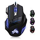hesapli Mouse-Factory OEM Kablolu USB Gaming Mouse anahtarlar LED Işık 4 Ayarlanabilir DPI Seviyesi 6 programlanabilir tuş