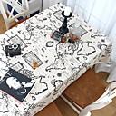 halpa Muotikaulakorut-Nykyaikainen Nonwoven Neliö Table Cloths Geometrinen Patterned Pöytäkoristeet 1 pcs