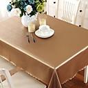 זול מפות שולחן-עכשווי PVC ריבוע כיסויי שולחן גיאומטרי לוח קישוטים 1 pcs