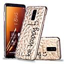 رخيصةأون ساعات النساء-غطاء من أجل Samsung Galaxy A6 (2018) / A6+ (2018) / A8 2018 شفاف / نموذج غطاء خلفي جملة / كلمة ناعم TPU