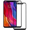 رخيصةأون Xiaomi أغطية / كفرات-حامي الشاشة asling ل xiaomi xiaomi mi 8 خفف من الزجاج 2 قطع كامل الشاشة حامي الشاشة 9h صلابة / 2.5d منحني حافة / انفجار برهان