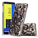 رخيصةأون حافظات / جرابات هواتف جالكسي J-غطاء من أجل Samsung Galaxy J7 (2017) / J6 / J5 (2017) نموذج غطاء خلفي الطباعة الدانتيل ناعم TPU