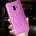 رخيصةأون حافظات / جرابات هواتف جالكسي S-غطاء من أجل Samsung Galaxy S9 / S9 Plus نحيف جداً / شفاف غطاء خلفي لون سادة ناعم TPU