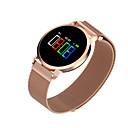 Χαμηλού Κόστους Έξυπνα ρολόγια-F1 pro Έξυπνο ρολόι Android iOS Bluetooth Αθλητικά Αδιάβροχη Συσκευή Παρακολούθησης Καρδιακού Παλμού Μέτρησης Πίεσης Αίματος / Οθόνη Αφής / Θερμίδες που Κάηκαν / Μεγάλη Αναμονή / Βηματόμετρο