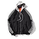 voordelige Hondenkleding & -accessoires-Heren Dagelijks Street chic Normaal Jack, Modern Capuchon Lange mouw Polyester Rood / Blozend Roze / Leger Groen L / XL / XXL