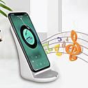 preiswerte Zubehör für GoPro-neun fünf nf10 universal schnelle lade drahtlose ladegerät stehen mit bt lautsprecher für iphone x samsung s7 s9