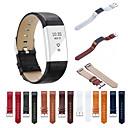 رخيصةأون أساور ساعات FitBit-حزام إلى Fitbit Charge 2 فيتبيت عصابة الرياضة جلد طبيعي شريط المعصم