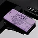 رخيصةأون حافظات / جرابات هواتف جالكسي A-غطاء من أجل Samsung Galaxy A6 (2018) / A6+ (2018) / A3 (2017) محفظة / حامل البطاقات / مع حامل غطاء كامل للجسم قطة / شجرة قاسي جلد PU