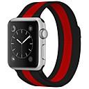 رخيصةأون قيود ساعات-ستانلس ستيل حزام حزام إلى Apple Watch Series 4/3/2/1 أسود 23CM / 9 بوصة 2.1cm / 0.83 Inches
