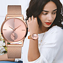 cheap Necklaces-Women's Ladies Wrist Watch Gold Watch Quartz Black / Silver / Gold Chronograph Creative New Design Analog Luxury Elegant - Silver / Black Rose Gold Silvery / White One Year Battery Life