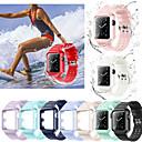 저렴한 애플 시계 밴드-시계 밴드 용 Apple Watch Series 4/3/2/1 Apple 스포츠 밴드 실리콘 손목 스트랩