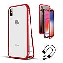 hesapli Yüz Bakım Cihazı-Pouzdro Uyumluluk Apple iPhone XR / iPhone XS Max Yarı Saydam Tam Kaplama Kılıf Solid Sert Temperli Cam için iPhone XS / iPhone XR / iPhone XS Max
