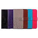 baratos Capinhas para Nokia-Capinha Para Nokia Nokia 6 2018 Porta-Cartão / Flip Capa Proteção Completa Sólido / Mandala Macia PU Leather para Nokia 6 2018