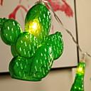 abordables Organisateurs de Câbles-1.5m Guirlandes Lumineuses 10 LED Blanc Chaud / Blanc Décorative / Cool Piles AA alimentées