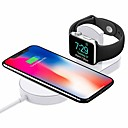 cheap Wireless Chargers-Cwxuan Wireless Charger USB Charger with Cable / QC 3.0 / Quick Charger 1A DC 9V / DC 5V for iPhone XS / XS Max / XR / X / iPhone 8 / Plus / iWatch