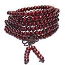 povoljno Narukvice-Muškarci Gyöngyök Narukvica s perlama drven Drvo Kreativan Moda Kinezerije Narukvice Jewelry Bijela / Braon / Zelen Za Praznik Festival