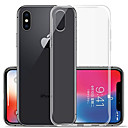 baratos Capinhas para iPhone-Capinha Para Apple iPhone XR / iPhone XS Max Transparente Capa traseira Sólido Macia TPU para iPhone XS / iPhone XR / iPhone XS Max
