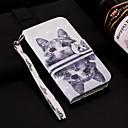 billige Armbånd-Etui Til Apple iPhone XR / iPhone XS Max Lommebok / Kortholder / med stativ Heldekkende etui Katt Hard PU Leather til iPhone XS / iPhone XR / iPhone XS Max