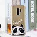 hesapli Duvar dekorasyonu-Pouzdro Uyumluluk Samsung Galaxy S9 Plus / S9 Şeffaf / Temalı Arka Kapak Panda Yumuşak TPU için S9 / S9 Plus / S8 Plus