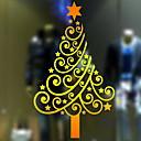preiswerte Fensterdekoration-Fenster Film & Aufkleber Dekoration Weihnachten Urlaub PVC Cool