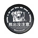 cheap Decoration Stickers-Full Coverage Spare Tire Covers Artificial Leather For universal All years for All Seasons
