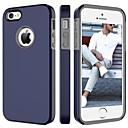 hesapli iPhone Kılıfları-BENTOBEN Pouzdro Uyumluluk Apple iPhone 5 Kılıf Şoka Dayanıklı Arka Kapak Solid Sert PC için iPhone SE / 5s / iPhone 5