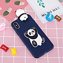 cheap iPhone Cases-Case For Apple iPhone X / iPhone 8 Plus Pattern / DIY Back Cover Panda Soft TPU for iPhone X / iPhone 8 Plus / iPhone 8