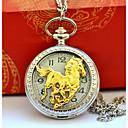 رخيصةأون ساعات الرجال-رجالي الزوجين ساعة جيب ساعة ذهبية كوارتز فضة ساعة كاجوال كوول مماثل عتيق كاجوال - ذهبي