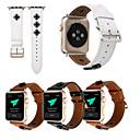 hesapli Lamba Tabanları-Watch Band için Apple Watch Series 3 / 2 / 1 Apple Klasik Toka Gerçek Deri Bilek Askısı