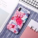 olcso iPhone tokok-Case Kompatibilitás Apple iPhone XR / iPhone XS Max Minta Fekete tok Flamingó Kemény PC mert iPhone XS / iPhone XR / iPhone XS Max