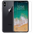 baratos Capinhas para iPhone-protetor de tela nillkin para apple iphone xs max pet 1 pc frente& protetor traseiro ultra fino / fosco / prova de risco