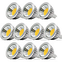 cheap LED Spotlights-ZDM 10PCS Dimmable 5W MR16 COB 400-450 lm Warm White / Cool White / Natural Whitea 40 Degree Beam Angle Spotlight AC/DC12V
