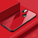 Недорогие Адаптеры-Кейс для Назначение Apple iPhone XS / iPhone XR / iPhone XS Max Защита от удара Кейс на заднюю панель Однотонный Твердый Закаленное стекло