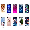 cheap Barware & Openers-Case For Apple iPhone XR / iPhone XS Max Ultra-thin / Transparent / Pattern Back Cover Christmas Soft TPU for iPhone XS / iPhone XR / iPhone XS Max