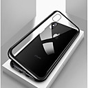 cheap iPhone Cases-Case For Apple iPhone X / iPhone 8 / iPhone 8 Plus Shockproof / Transparent / Magnetic Full Body Cases Solid Colored Hard Tempered Glass / Metal for iPhone X / iPhone 8 Plus / iPhone 8