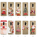 cheap Galaxy S Series Cases / Covers-Case For Samsung Galaxy S9 Plus / S8 Plus Pattern Back Cover Christmas Soft TPU for S9 / S9 Plus / S8 Plus