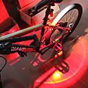 رخيصةأون مصابيح إشارات السيارات-- اضواء الدراجة ضوء الدراجة الخلفي أضواء السلامة LED دراجة جبلية الدراجة ركوب الدراجة ضد الماء محمول سريع الإصدار مضاعف li-بوليمر 150 lm قابلة لإعادة الشحن USB لون متعدد أخضر