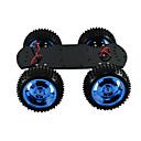 رخيصةأون النماذج-4wd كامل معدن محرك السيارة الذكية هيكل السيارة كبير عزم روبوت اردوينو