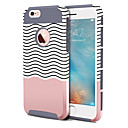 cheap iPhone Cases-BENTOBEN Case For Apple iPhone 6 Plus / iPhone 6s Plus Shockproof / Pattern Back Cover Lines / Waves Hard TPU / PC for iPhone 6s Plus / iPhone 6s / iPhone 6 Plus