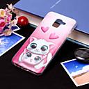 رخيصةأون حافظات / جرابات هواتف جالكسي J-غطاء من أجل Samsung Galaxy J8 (2018) / J7 (2017) / J7 (2018) IMD / نموذج غطاء خلفي قطة ناعم TPU