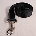 abordables Vêtements & Accessoires pour Chien-Chiens Laisses / Laisse Mains Libres Marche / Rétractable / Ajustable / Réglable Couleur Pleine Nylon Noir