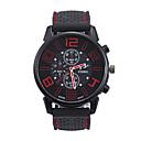 levne Pánské-Pánské Sportovní hodinky Křemenný Silikon Černá Hodinky na běžné nošení Analogové Módní - Červená Zelená Modrá